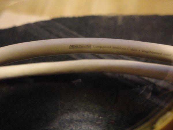 Межблочный кабель RCA. 0,5м.Mit Terminator (США)