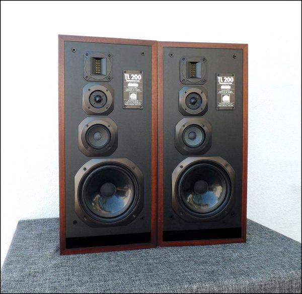 Arcus TL 200. 4-х полосная акустика. HI-END