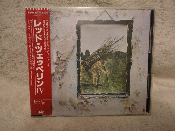 Led Zeppelin IV Japan OBI 32XD-335 ¥3,200 1 press