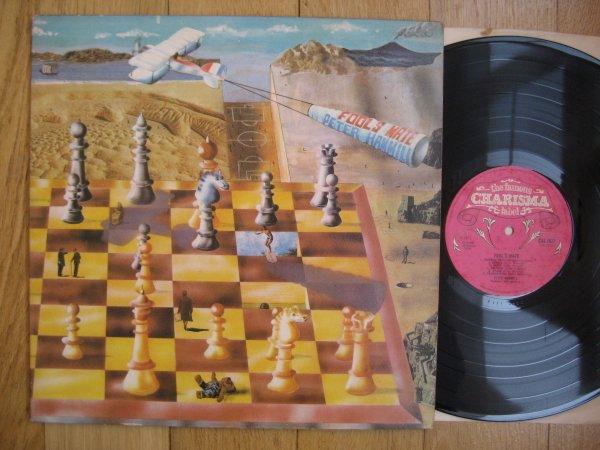 PETER HAMMILL - FOOL,S MATE UK ORIG LP EX/NM (EX VAN DER GAAF GENERATOR)