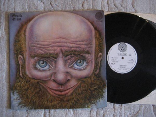 GENTLE GIANT - SAME UK LP (VERTIGO SWIRL) NM/NM