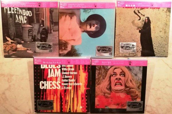 FLEETWOOD MAC. Комплект из 5 ранних альбомов JAPAN MINI-VINYL (1-е изд.)