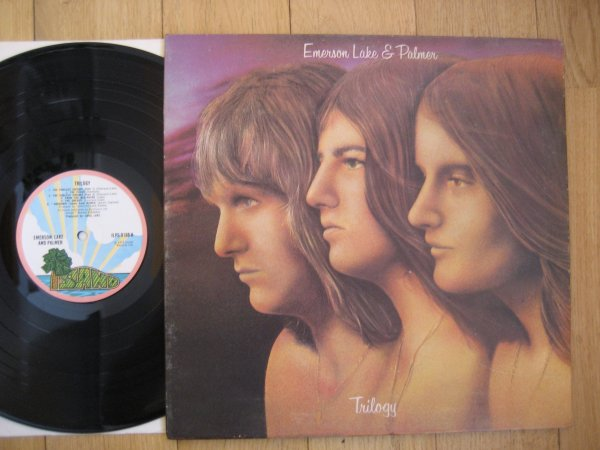 EMERSON, LAKE & PALMER - TRILOGY UK ORIG LP EX/NM