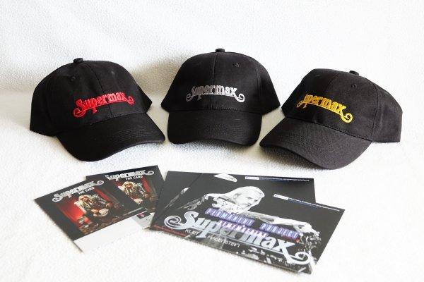 Официальная бейсболка группы SUPERMAX. Мегараритет.