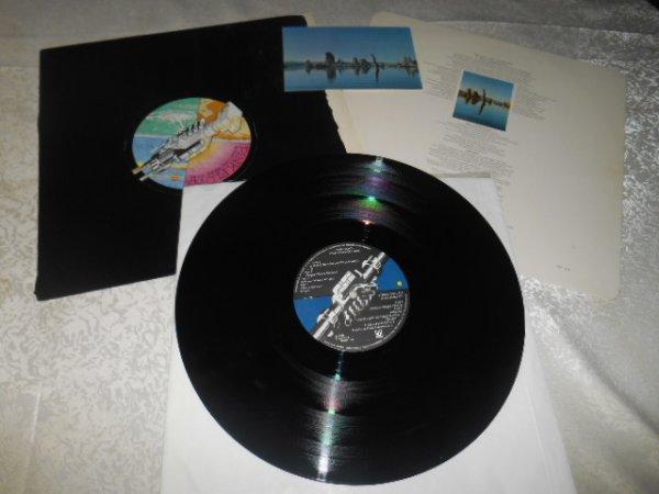 Pink Floyd Wish You Were Here UK 1975 (Black shrink wrap)