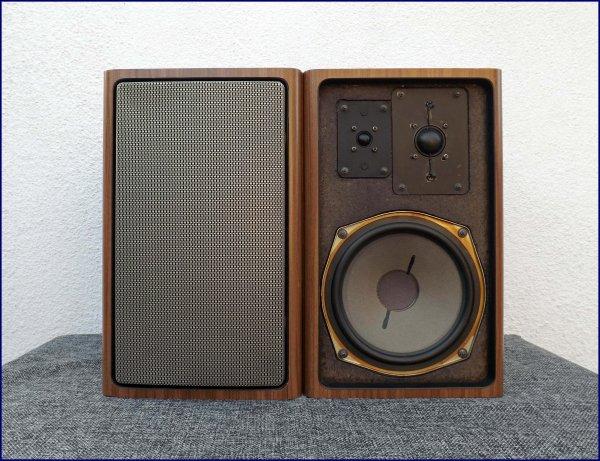 Grundig HiFi-Box 1000. Немецкие полочники