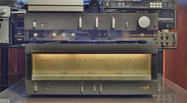 Technics SE-A5+SU-A6. Культовый HI-End комплект! Обслужен.