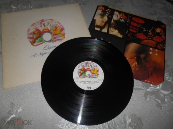 Queen A Night At The Opera orig.UK 1975