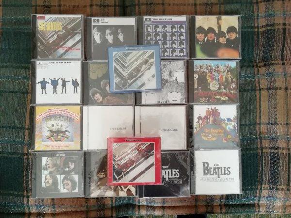 THE BEATLES USA 1987 (1993)CD Лонг Бокс для белого в комплекте