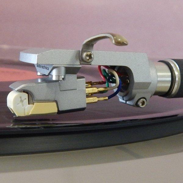 Картридж MM Audio-Technica ATE30 LC-OFC, вставка эллипс б/у рабочая, крепеж