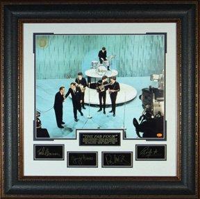 Эксклюзивные эстампы с автографами The Beatles