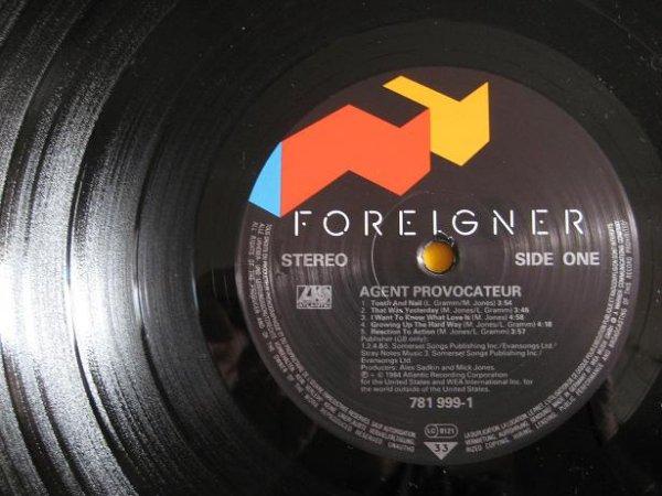 foreigner agent provocateur 781999 1 germany 1984. Black Bedroom Furniture Sets. Home Design Ideas