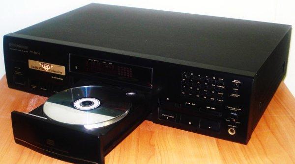 Сд. Pioneer PD-S604.